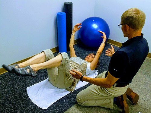 Rehabilitation is performed at Lederman Chiropractic & Sports Medicine