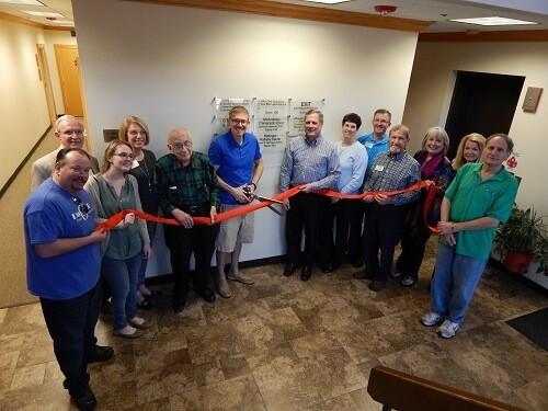 Wheaton Chamber of Commerce Ribbon Cutting for Lederman Chiropractic & Sports Medicine