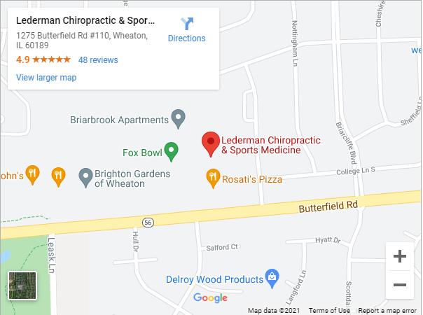 Contact Us at Lederman Chiropractic